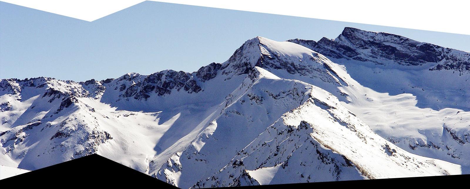 Pico de los Machos y el Veleta