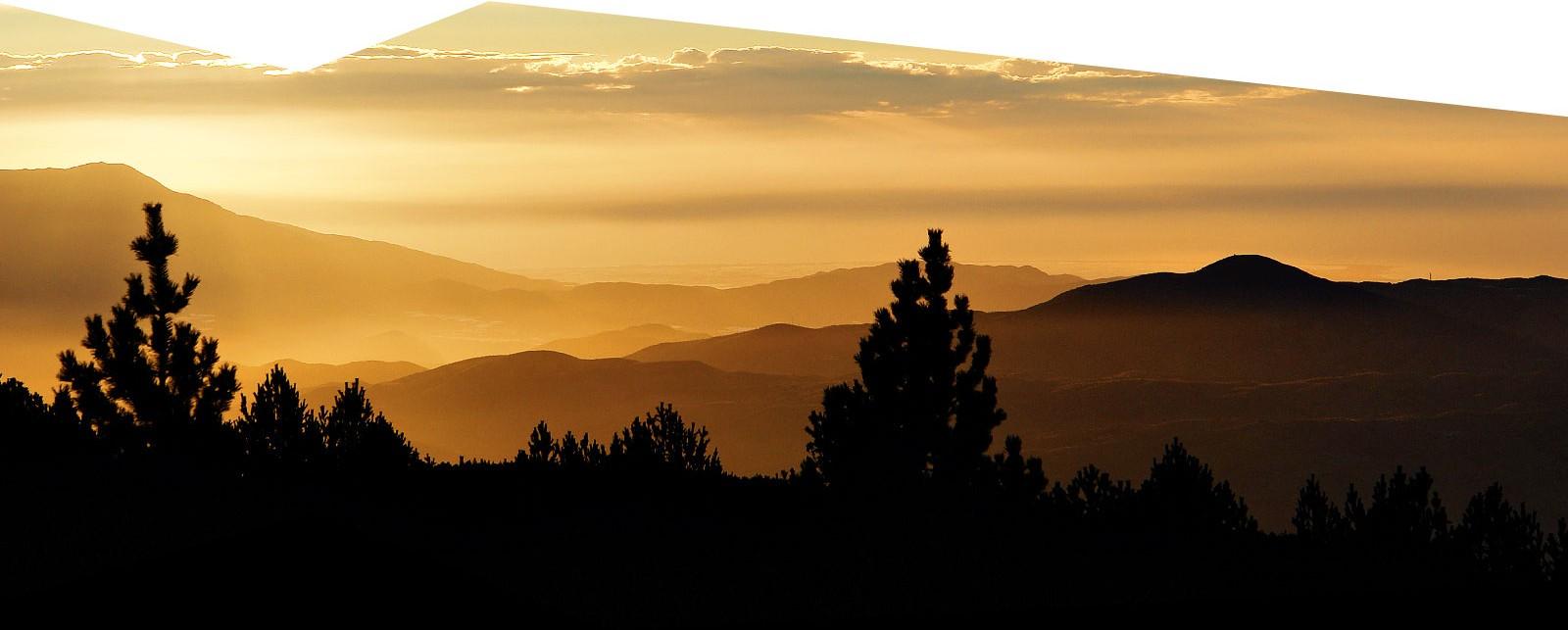 Amanece en Sierra Nevada