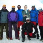 Curso iniciación montaña invernal.