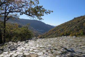 Era en el Barranco de Poqueira Parque nacional de Sierra Nebvada