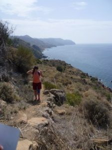 Cala de Cantarrijan parque Natural Tejeda Almijara y Alhama Maro Cerro gordo