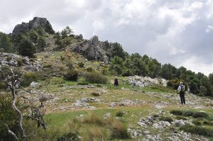 Collado y Cruz de Viznat Parque Natural Sierra Huetor
