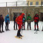 Ciclo raquetas de nieve
