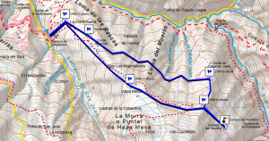 Mapa hornillo